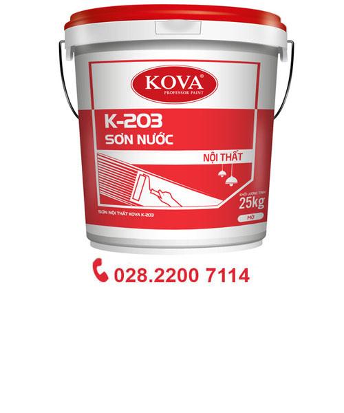 Sơn Nước nội thất Kova K-203(Trắng)20 Kg