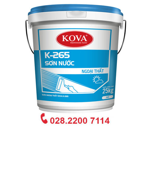 Sơn Nước Ngoại thất kova K-265 (Trắng)20 Kg