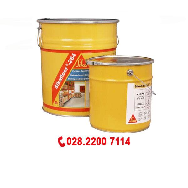Sơn epoxy Topcoat Sikafloor-264