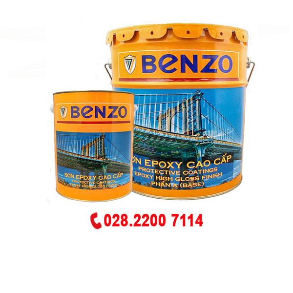 Sơn phủ Epoxy Benzo màu sắc