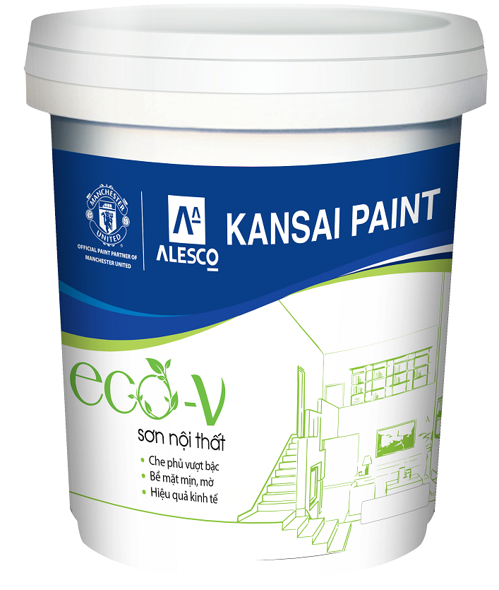 Kansai Eco-V Topcoat Paint