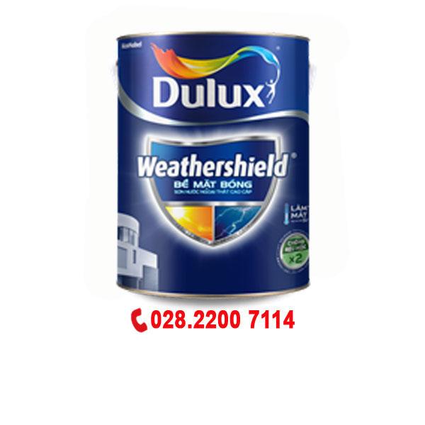 Dulux Weathershield Ngoại Thất-Bóng