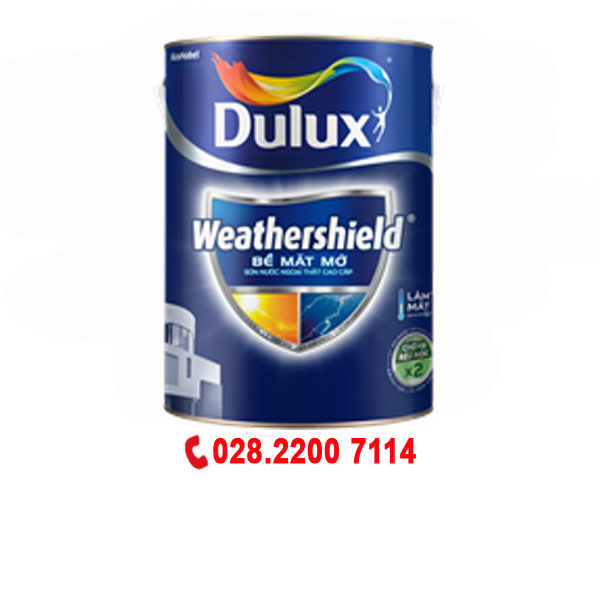 Dulux Weathershield Ngoại Thất-Mờ