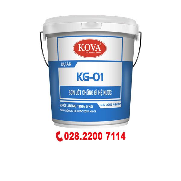 Sơn chống rỉ Kova KG-01 hệ nước