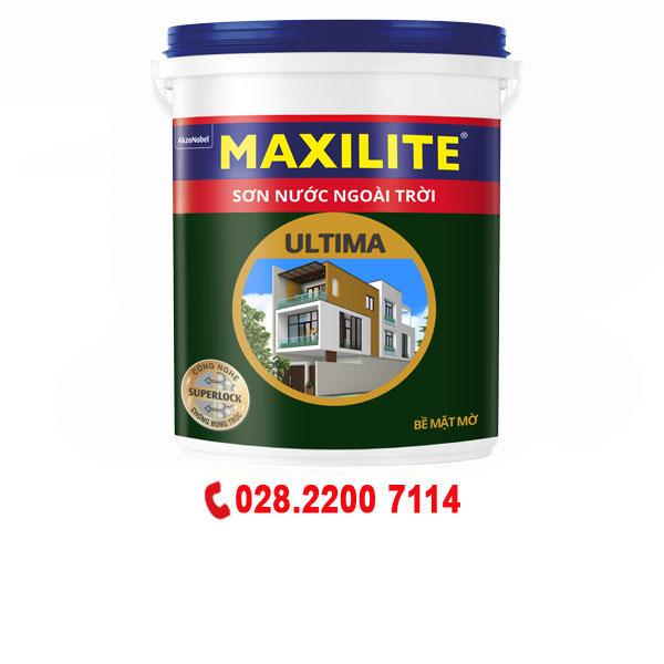 Sơn nước ngoài trời Maxilite Ultima-Mờ