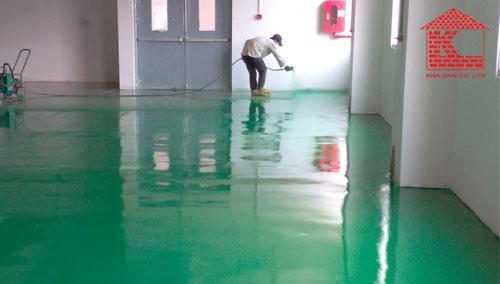 Chọn sơn epoxy loại nào cho khu chế xuất