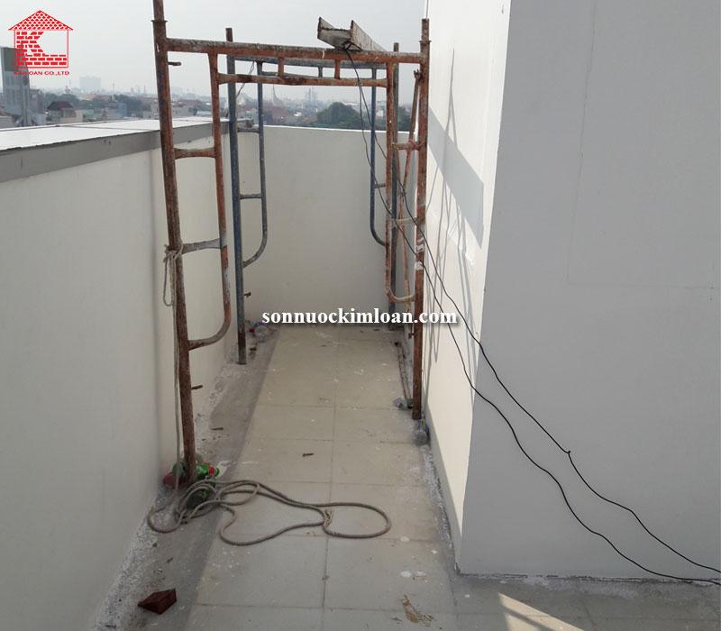 sơn chống thấm sân thượng