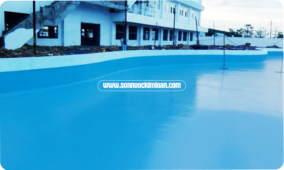 chống thấm hồ bơi