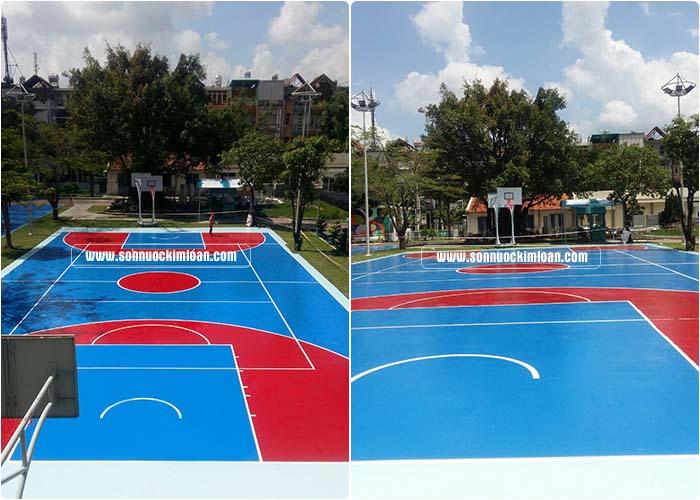 sân chơi bóng rổ 1