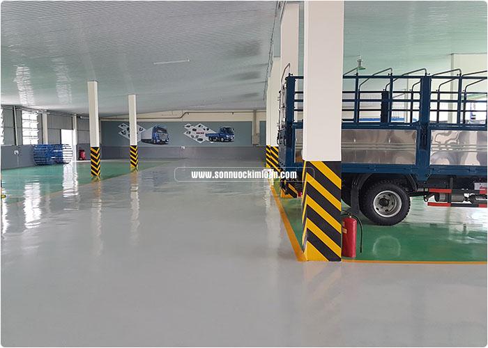 sơn sàn gara ô tô 4