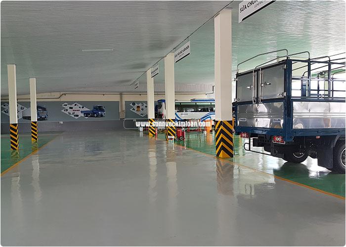 sơn sàn gara ô tô 3
